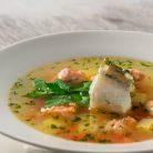 Zupa rybna z fenkułem i szafranem